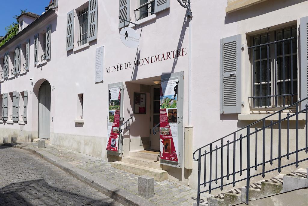 Musee de Montmartre - Rue Cortot - Paris