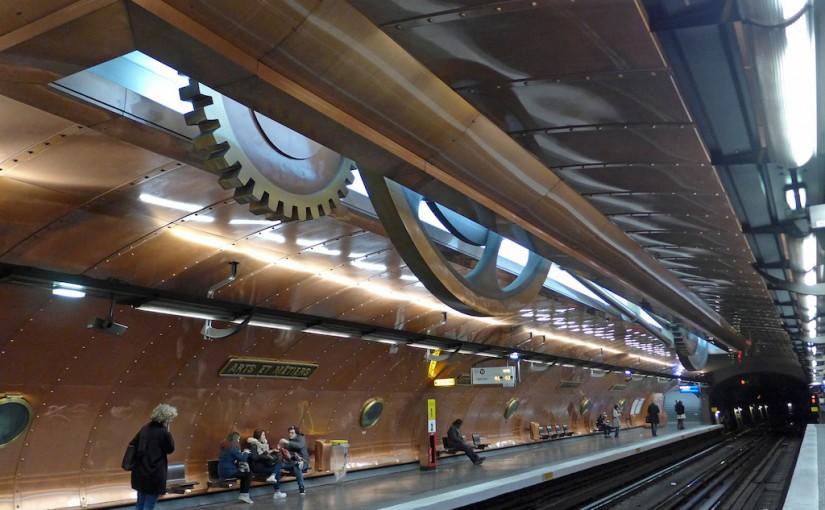 Metro Station of the Month : Arts et Métiers (line 11)