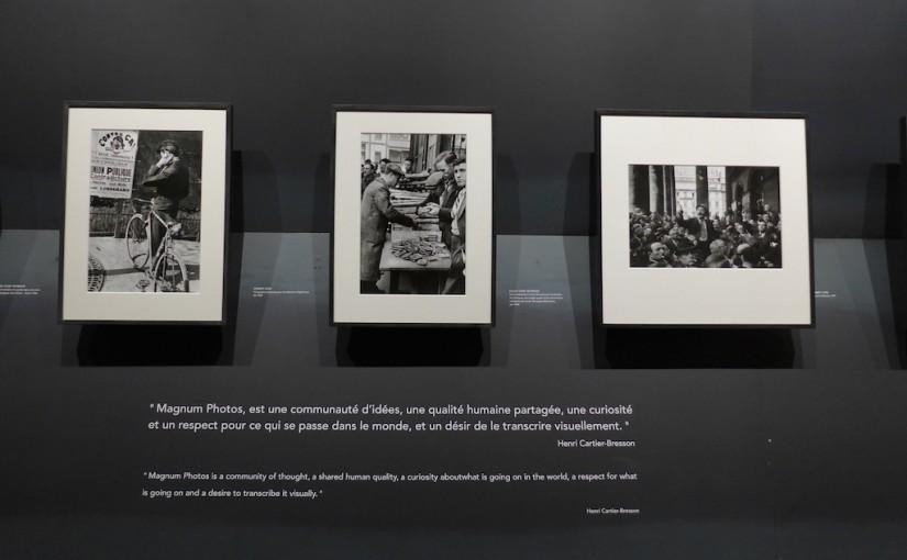 Visit the Exhibition Paris Magnum before 25 April : it's free