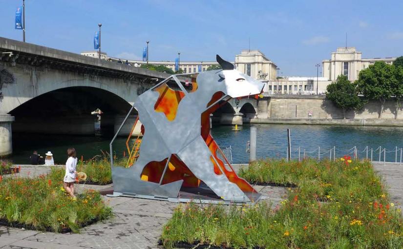 'Petite Fleur Folies': an Ephemeral Garden in Paris until 21 June
