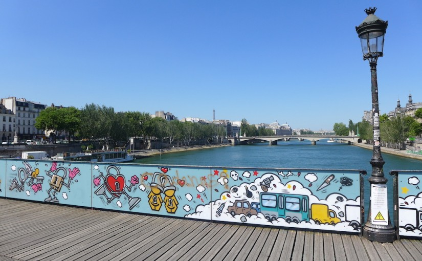 Bye Bye Love Locks: A New Look for the Pont des Arts in Paris