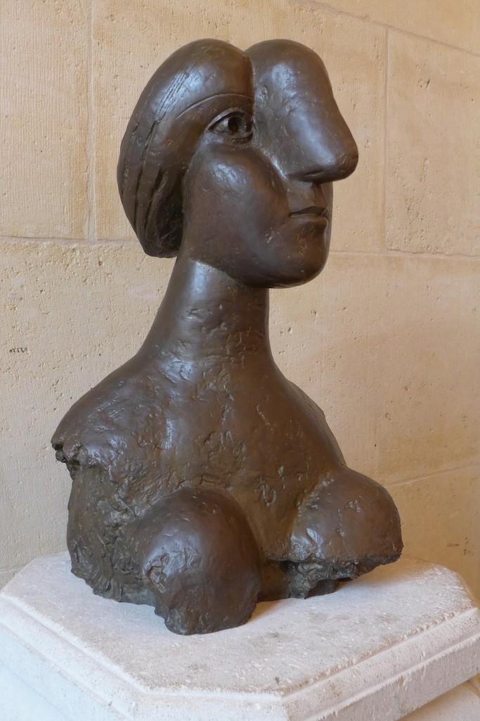 Musee-Picasso-buste de femme - Good Morning Paris The Blog