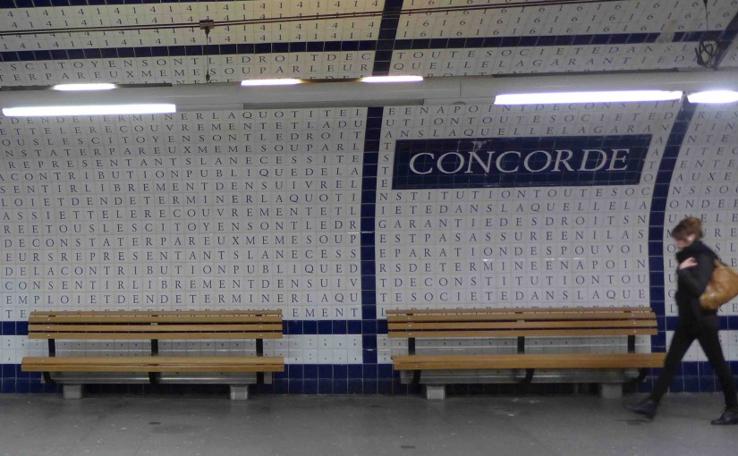 Metro Station of the Month: Concorde (line 12)