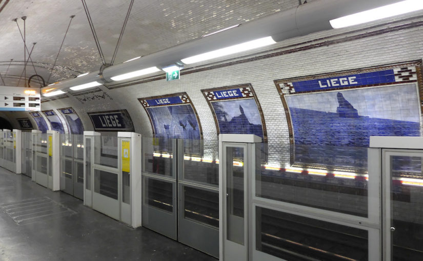 Metro Station of the Month: Liège (line 13)