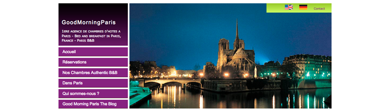 When I created Good Morning Paris …